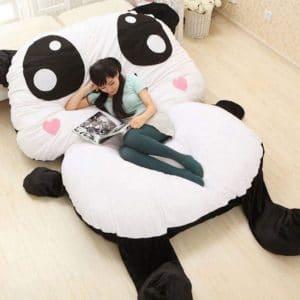 pouf geant panda